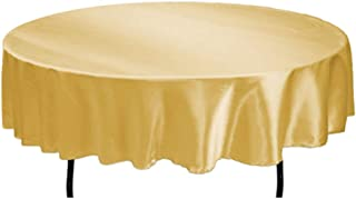 Best 70 round gold tablecloth Reviews