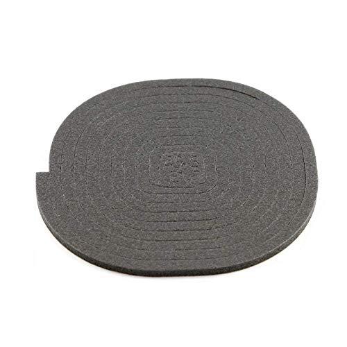 ALGOMAS© Junta universal de asiento para vitrocerámica o inducción,220cm, adhesiva y de fácil instalación