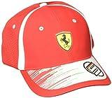 PUMA Erwachsene Kappe SF Replica Vettel, Rosso Corsa, One Size, 21537