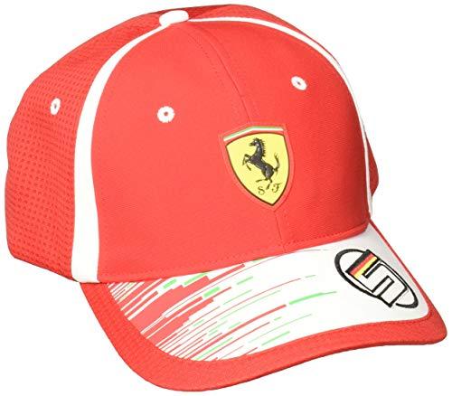 PUMA SF Replica Vettel Gorro, Unisex Adulto, Rojo (Rosso Corsa), Única