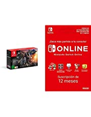 Nintendo Switch edición Monster Hunter Rise (Edición Limitada) + Nintendo Switch Online - 12 Meses (Código de descarga)
