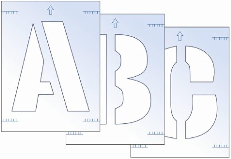 SCAN Letter Stencil Kit 300mm B005GTE2PE B005GTE2PE B005GTE2PE     | Züchtungen Eingeführt Werden Eine Nach Der Anderen  6bb3b6