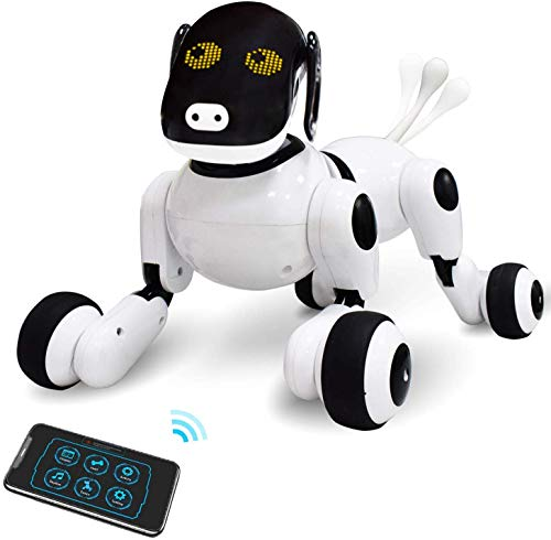 ONEASIA Puppy Smart Voice & App Interactive Toy for All Boys & Girls w/Touch Control