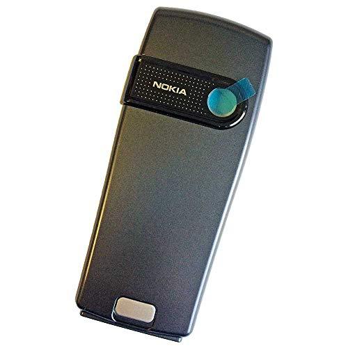 Nokia 6230 Original Akkudeckel Dunkel Grau