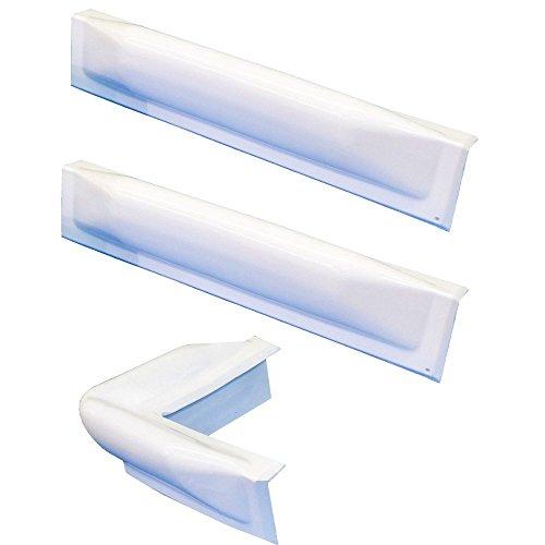 Dock Edge + Dock Guard Dock Bumper Kit, 1 Corner, 2 Straight- White