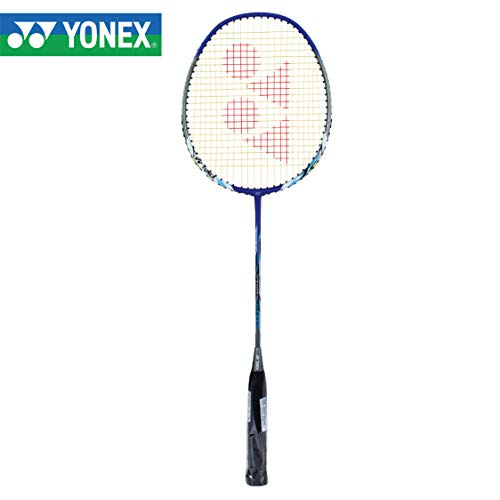 Yonex Nanoray 7000i Aluminum-Alloy Strung Badminton Racquet (Blue) with Full Cover