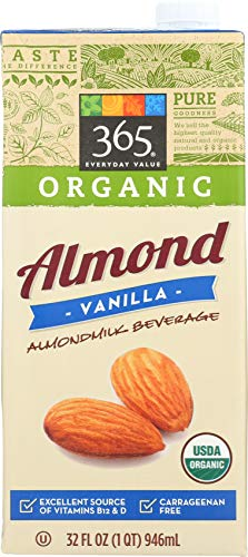 365 by Whole Foods Market, Organic Shelf-Stable Almondmilk, Vanilla, 32 Fl Oz