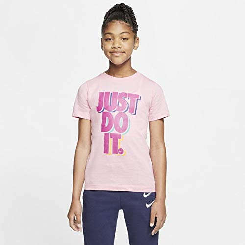 NIKE Sportswear - Camiseta de Manga Corta Unisex para Adulto, Color Rojo, Talla L