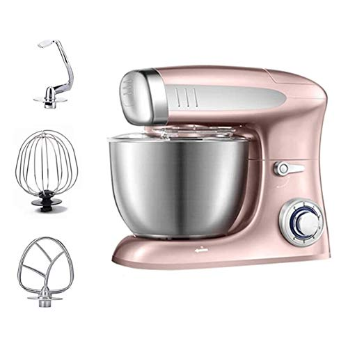 Stand Mixers 6.5L Professional Stand Mixer Dough Maker With Bowl 1300W Included Beater, Hook, Whisk Ideal For Cake, Batter, Bread, Desserts And More