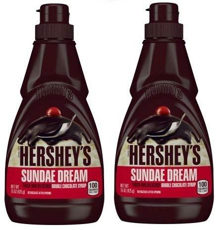 Hershey's Sundae Dream Double Chocolate Sirup, 425 ml (2 Stück)
