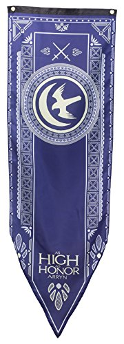 """Calhoun Game of Thrones House Sigil Tournament Banner (19"""" by 60"""") (House Arryn)"""