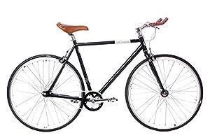 tretwerk DIREKT gute Räder Alma Bullhorn 28 Zoll Singlespeed/Fixie, Herren-Fahrrad 1 Gang, M