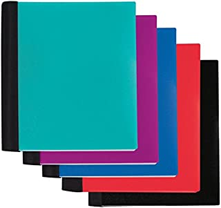 Office Depot Spiral Stellar Notebook, 9in x 11in, 3 Subject, College Ruled, 150 Sheets, 57% Recycled, Assorted Colors, 3SUB-STLR