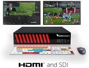Livestream Studio HD51 Live Production Switcher, Intel Core i7 3930K 3.2 GHz 6-Core, 8GB RAM, 1TB HDD, 5x HDMI & HD/SD-SDI, Windows 7 Pro