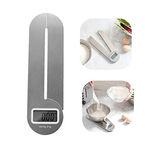 Balance cuisine Kitchen Scale Balance électronique pliable d'échelle de cuisine, petits outils de cuisson de cuisine, balance de cuisine de précision numérique 5kg / 1g