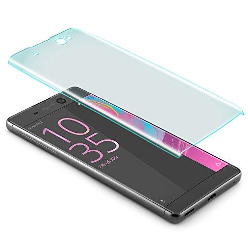 zanasta Protector de Pantalla Sony Xperia XA Ultra Vidrio Cristal Templado 3D...
