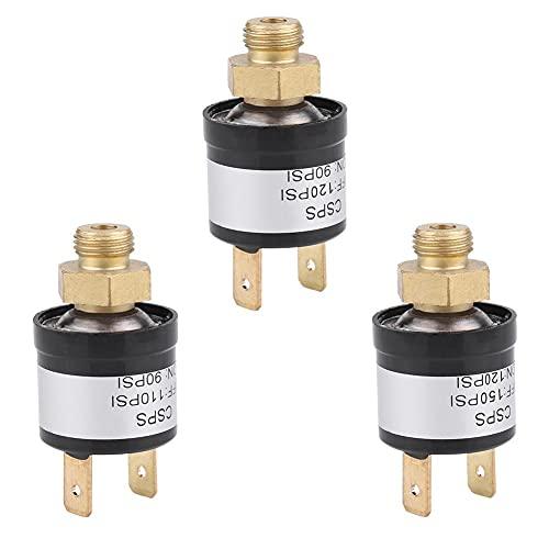 Fydun Automotive-Air-condition-Pressure-in-Compressor-Switches DC12-36V 3A Universal Car Air Compressor Switch Interruttore di controllo della pressione dell'aria Accessorio di ricambio