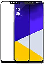 for Asus Zenfone 5 ZE620KL Screen Protector - Black Full Cover Screen Tempered Glass,2PACK Protective Film for Asus ZF5 ZE620KL