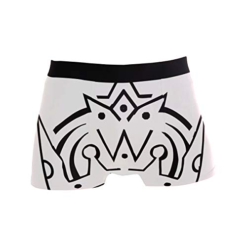 King Clown Drawing Men's Boxer Briefs Regular Soft Breathable Comfortable Underwear