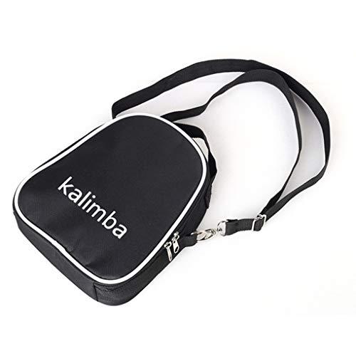 Yihaifu 17/10 Keys Kalimba Piano Aufbewahrungstasche Reißverschluss-Beutel verstellbaren Riemen-Schulter-Beutel Thick Spielraum tragen Handtasche