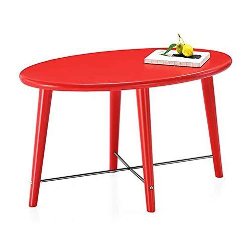 WSHFHDLC Mesa de Centro Sencillo Mini-nórdica Mesa Auxiliar de Moda de sofá aparador pequeña Mesa de café Tablas de café pequeñas (Color : A)