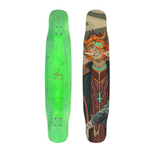 Longboards Professionele Skateboards Voor Jongens Allround Skateboards Modieuze Skateboards Beginnende Jongens Stoer Oppervlak Knipperende Boogwielen Verbreding En Verbreding Van Katrollen