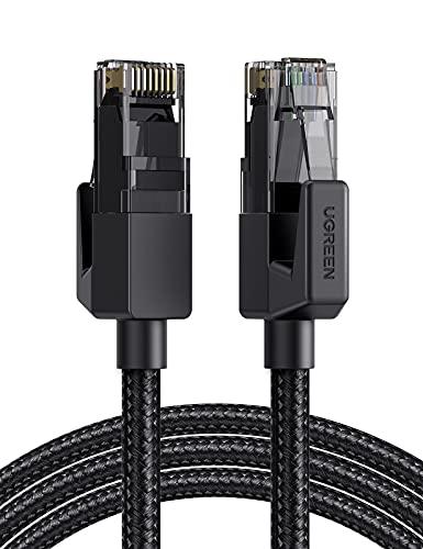 UGREEN Cable Ethernet Cat 6, Cable de Red Nylon Trenzado 1000Mbit/s con...