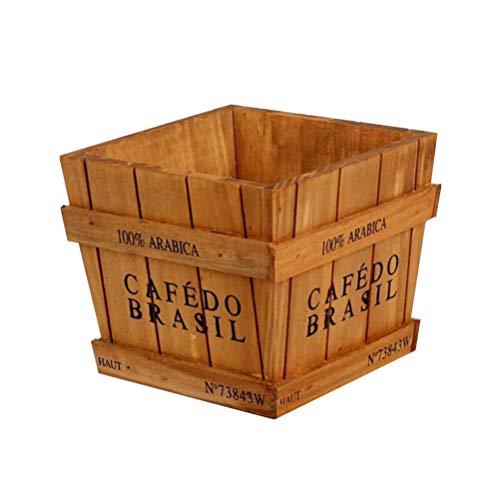 Vosarea Vintage Madera suculenta Caja Maceta jardinería Jardinera Ornamento