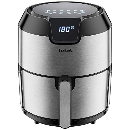 An image of the Tefal EY401D40 Easy Fry Air Fryer (Stainless Steel), 18/8