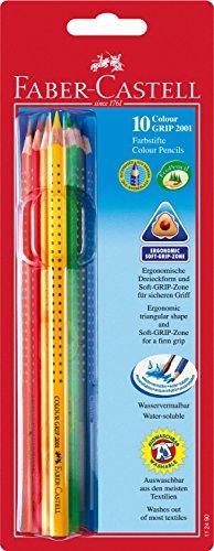 Faber-Castell 112490 - Farbstifte Colour, 10-er Etui