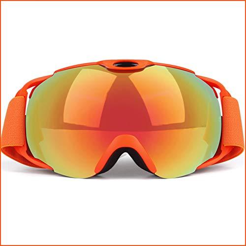 Ski Snowboard Lunettes Interchangeable Double Couche 100% UV400 Protection Anti-Buée Ventilé Ski Et Snowboard Lunettes Confortables Hommes Femmes,B