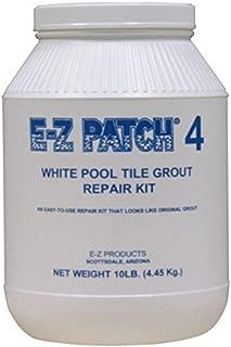 E-Z Patch 4 White Pool Tile Grout Repair 10 lb.