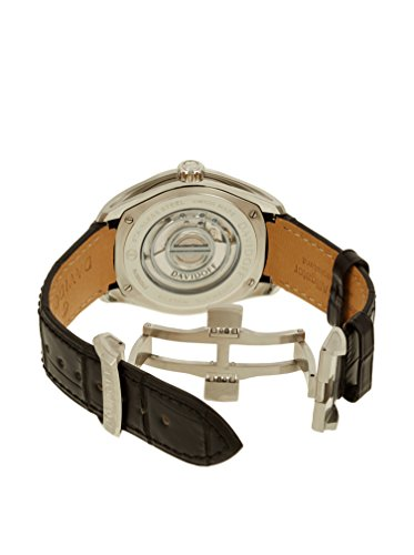 Davidoff Men's Automatic Watch Analogue Display and Leather Strap 21131