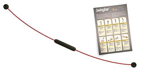 Originaler Swing Stick Version 2.0 mit Sicherheitsummantelung -deutsches Produkt - direkt vom Hersteller - inkl. Trainingsplakat und Schwingstab Online-Workouts