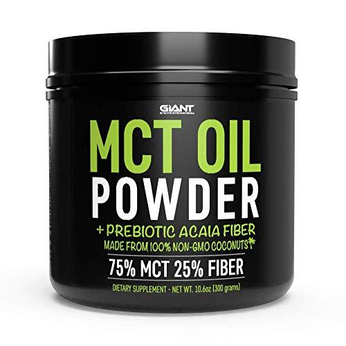 Giant Sports MCT Oil Powder with Prebiotic Acacia Powder