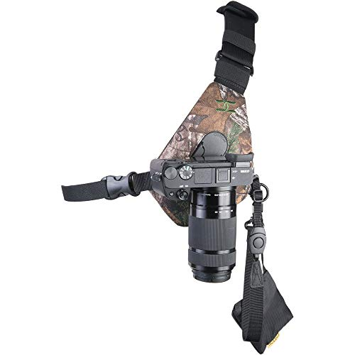 Cotton Carrier Skout Sling Style Harness for One Camera - Camo