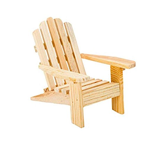 "SHOP AND GATHER 90 Adirondack Wood Chairs Wedding Party Favors 3.5"" High"