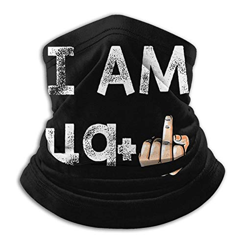 ULNIKU-T I Am 49 1 50th Birthday.Png Cubierta de Deportes a prueba de viento Hombres Mujeres Térmico Cuello Polaina Tubo Pasamontañas