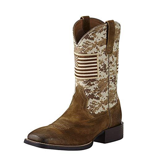 ARIAT Men's Sport Patriot Texas Western Boot