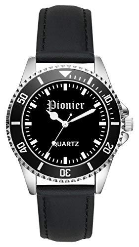Soldat Geschenk Artikel Bundeswehr Pionier Uhr L-2228