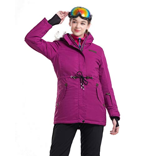 K1d859rn Chaqueta esquí for Mujer Snowboard Impermeable