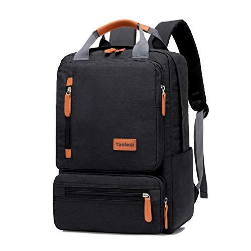 Mochila Backpack Impermeable Mochila Informal para Ordenador De Moda para Hombre, Mochila Ligera para Ordenador Portátil De 15,6 Pulgadas, Mochila De Viaje Antirrobo para Muje Entrega Rápida Gratuita