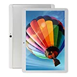 Android Tablet PC 10 inch, Octa-Core CPU, 4GB RAM,64GB ROM 5G-WiFi, HD IPS Touchscreen, Built-in Bluetooth GPS,P30(Silver)