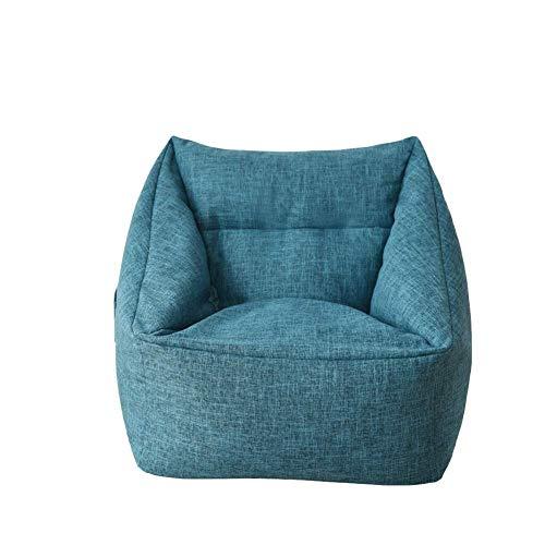 NBVCX Mechanische Teile Gemütlicher Sack Sitzsack Stuhl Maschinenwaschbares Sofa und riesige Liegemöbel für Kinder Jugendliche und Erwachsene Premium Schaumgefüllte Schutzfolie Plus abnehmbar