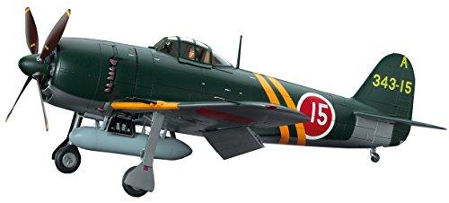 ハセガワ 1/32 日本海軍 川西 N1K2-J 局地戦闘機 紫電改 プラモデル ST33