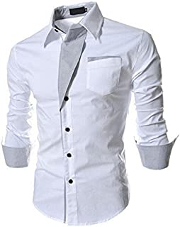 ARDYN Cotton Shirt for Men (White)