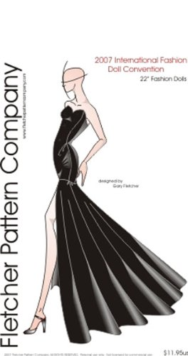 """IFDC 2007 Printed Sewing Pattern for 22"""" American Models"""