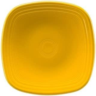 Homer Laughlin 920-342 Fiesta Square Luncheon Plate, Daffodil