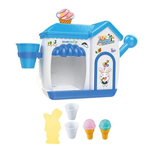 Mallalah Juguete de Espuma de Crema para niños con Forma de Burbujas, máquina de Helado para casa o bañera, Regalo del Agua