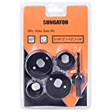 Product Image of the SUNGATOR 5-Piece Hole Saw Set